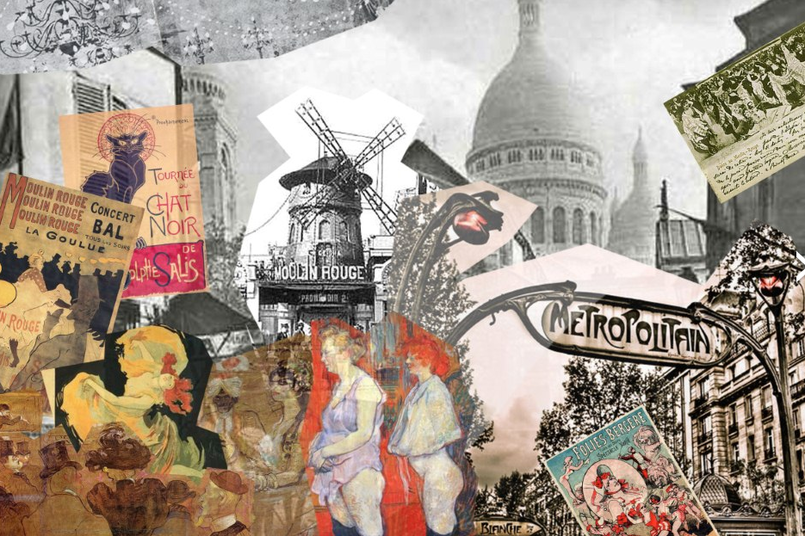 Collage: Montmartre