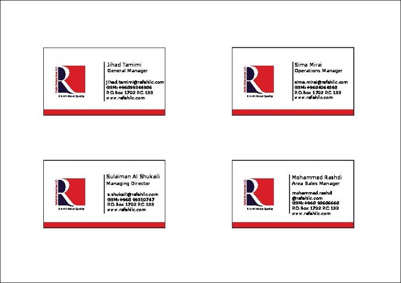 identity for rafah L.L.C