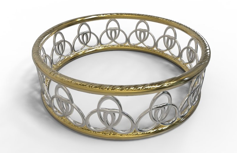 3d gold modeling