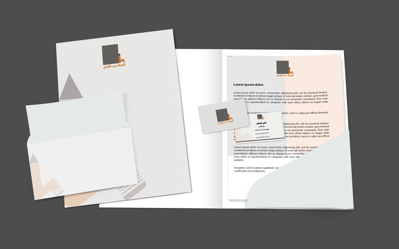 business card, letterhead,cover