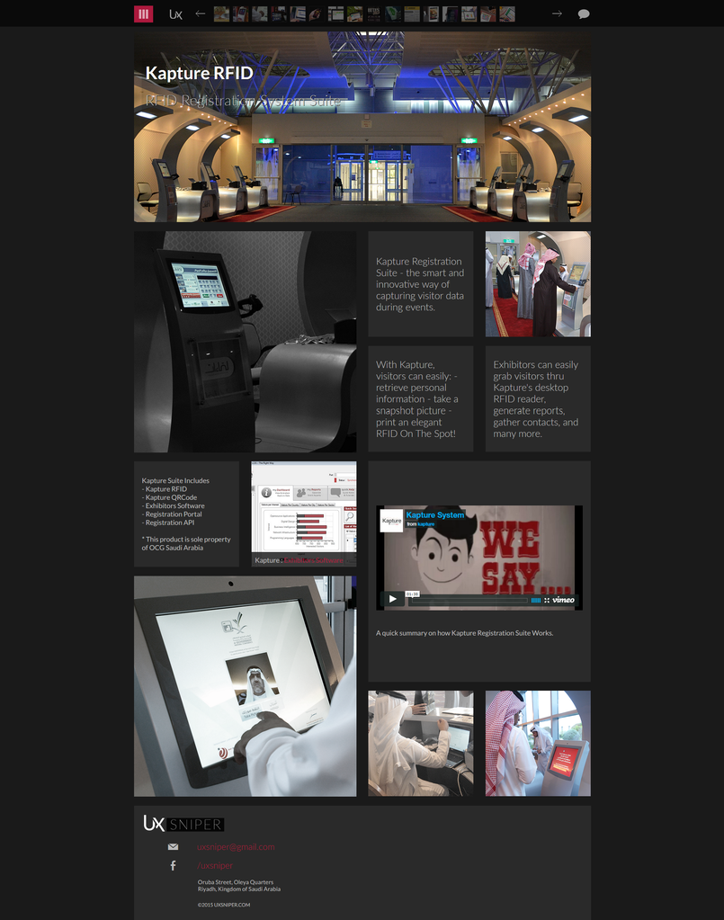 UXSNIPER.COM Website