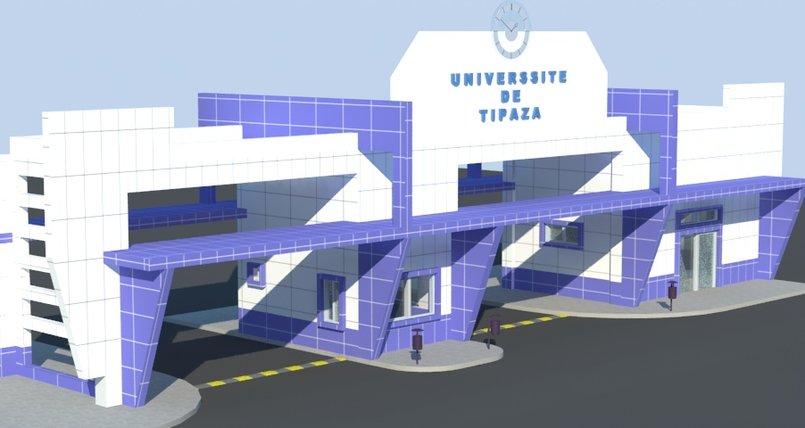 بوابة جامعة تيبازة