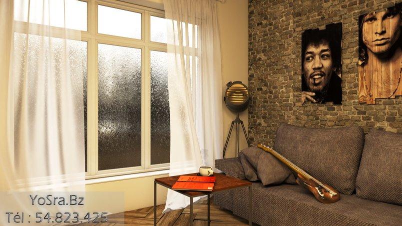 Interior Rendering - 3D- Living room