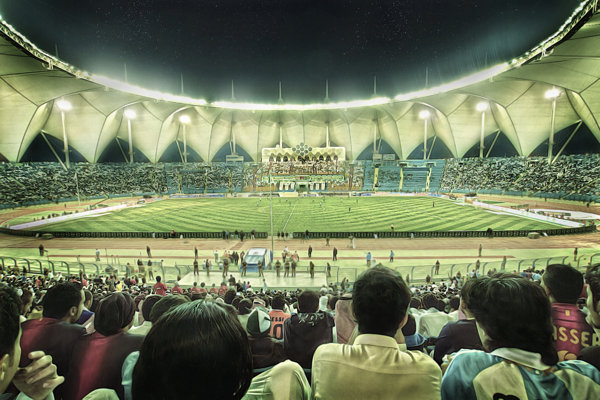 King Fahed Stadium
