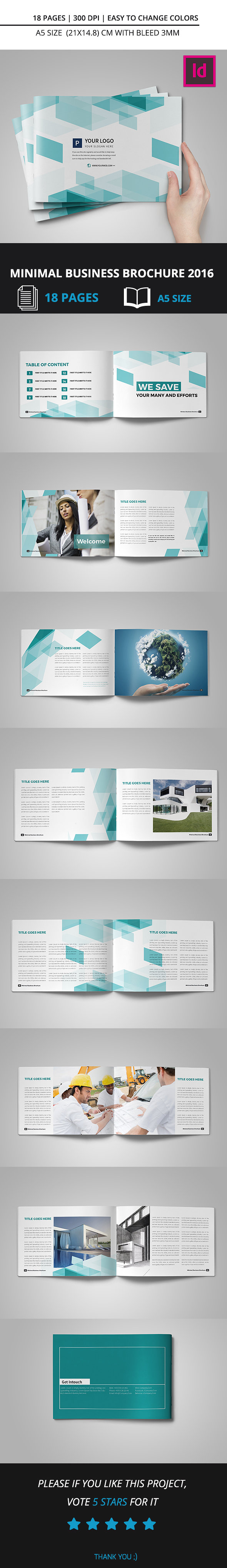Minimal Business Brochure 2016