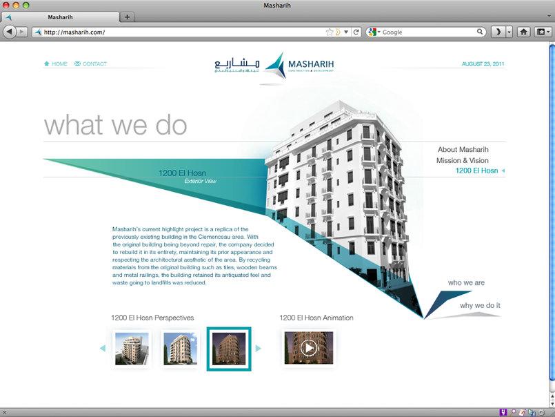 Masharih Website