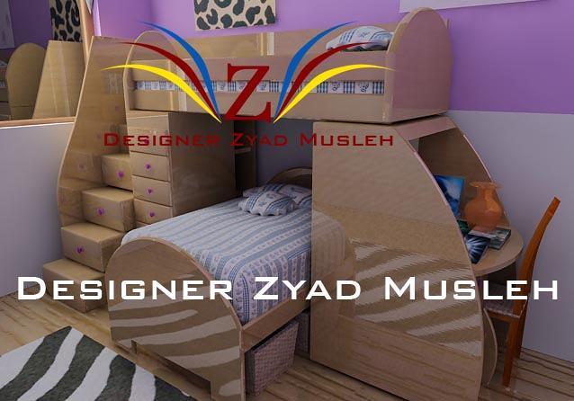 1 - تصميمالديكورات الداخلية و الخارجية d2 3d أبتداء من 15 دينار