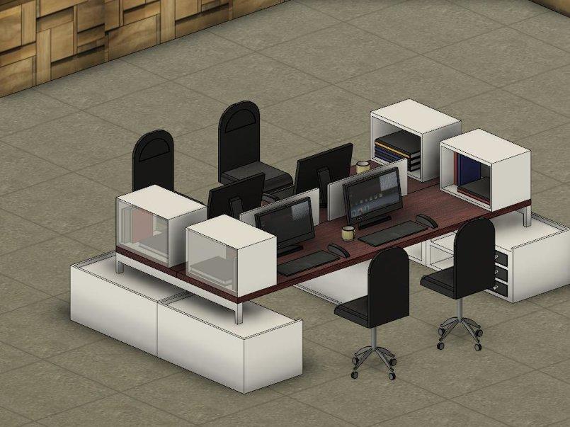 تصميم غرفة مكتب