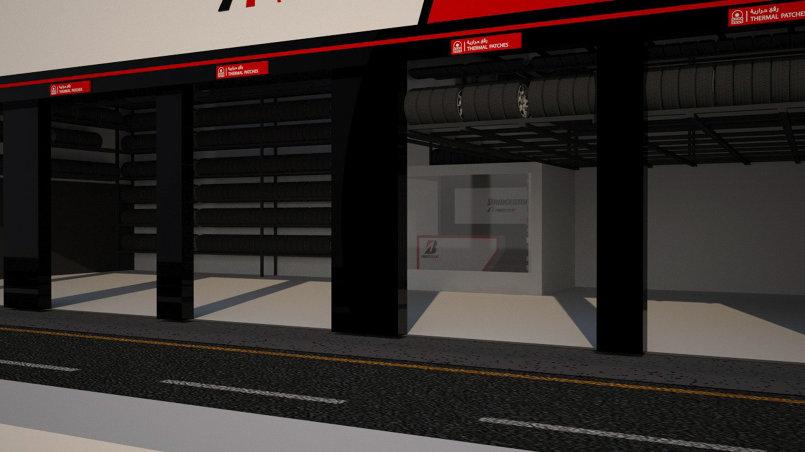 3D ties shop design