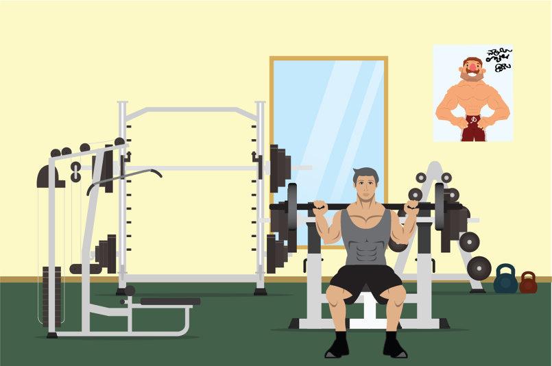 gym Scene