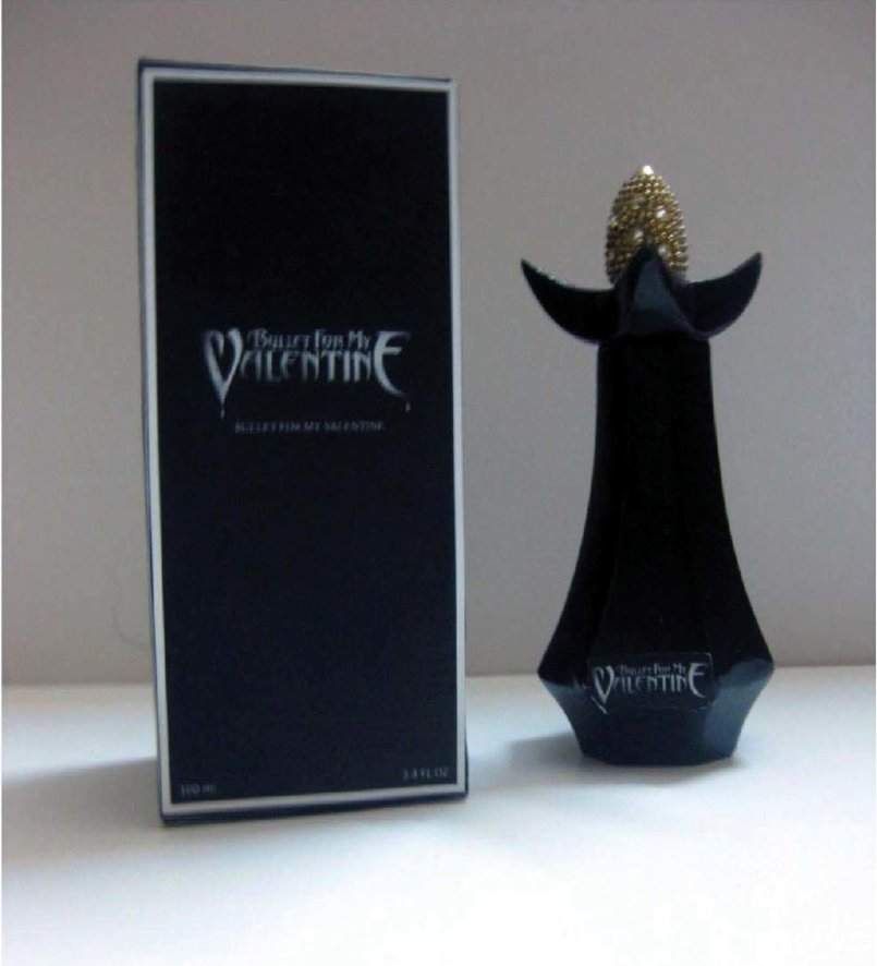 This Design i made for the Production subject in the uni it's for bullet for my valentine band i made the perfume Bottle design and the package for it