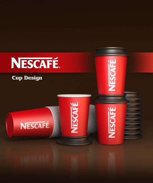 NESCAFE Cup Design