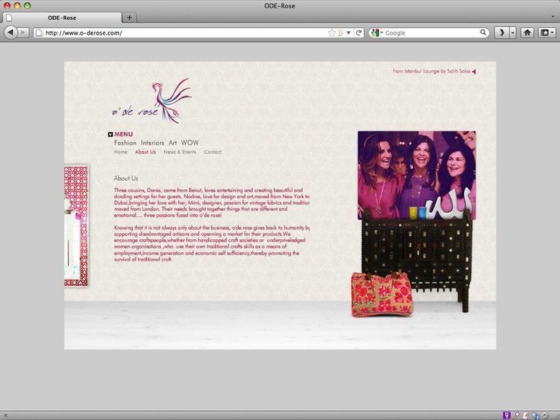 O'de Rose Website