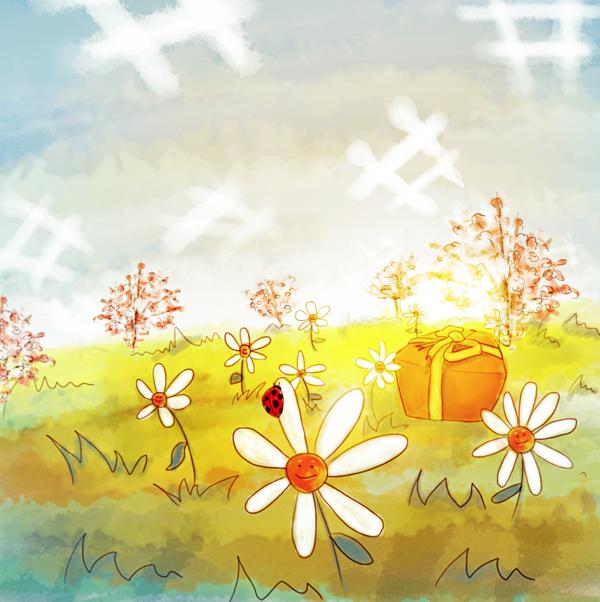 Spring surpise