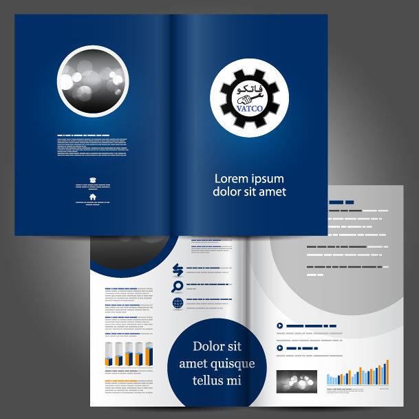 تصميم كتلوج خدمات الشركة