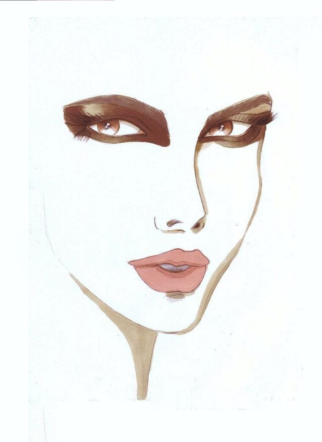 Fashion Illustration portraits