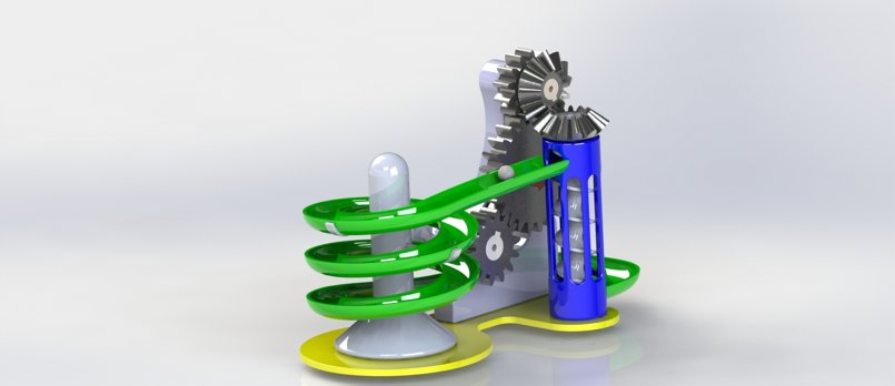 A 3d Marbel Game design