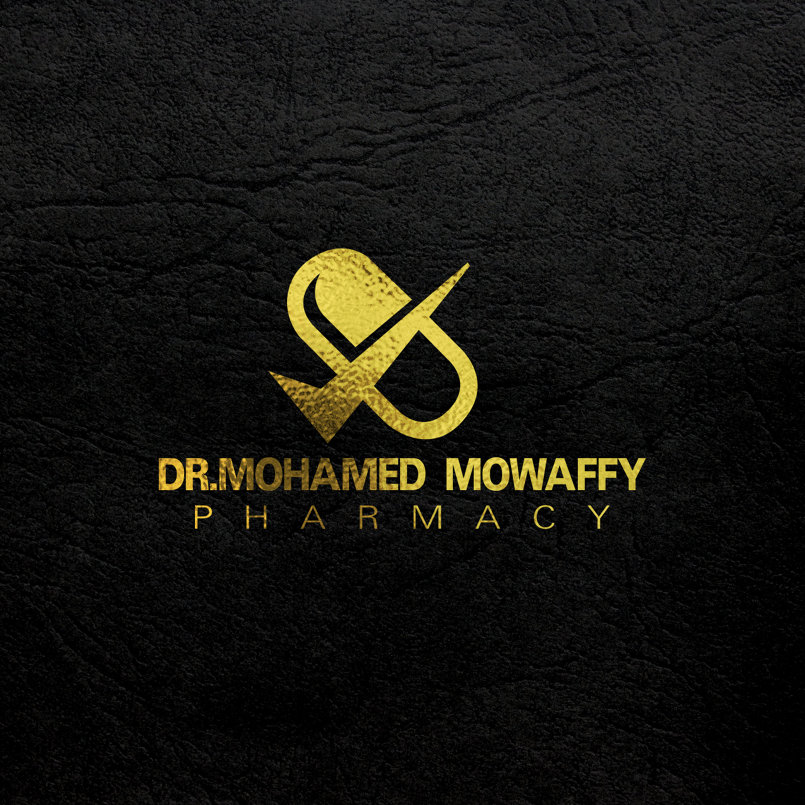 Design Brand + logo  DR.Mohamed mowaffy pharmacy