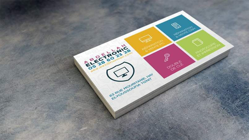 Electro Business Card