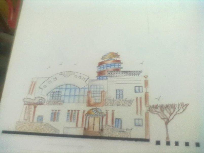 فيلا سكنية لفنان تشكيلى