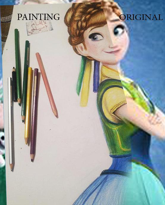 رسم شخصيات ديزني