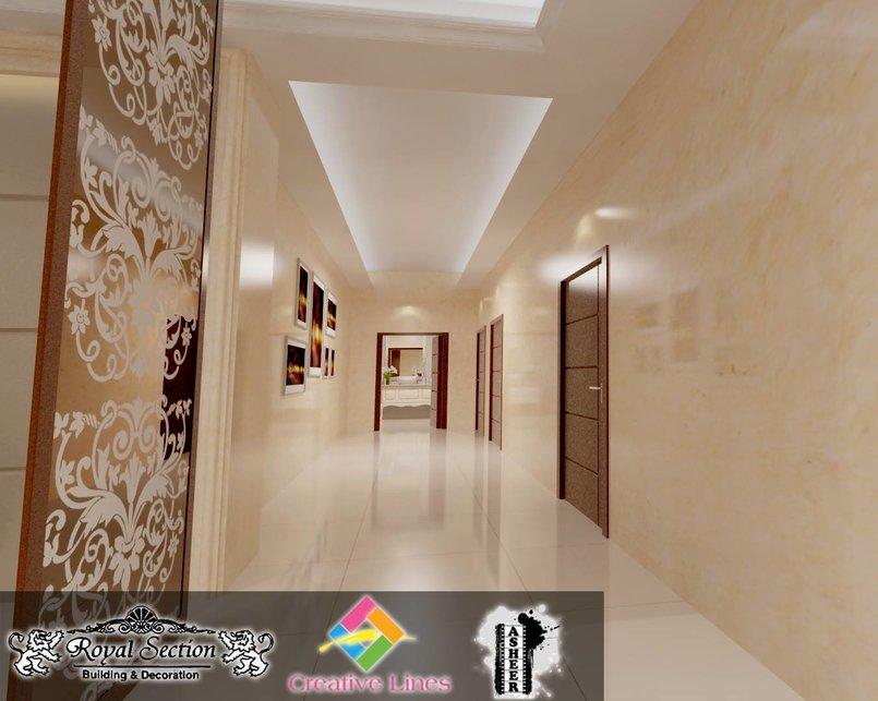 طرقة الغرف Corridor rooms