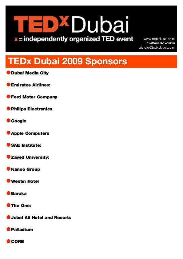TEDxDubai