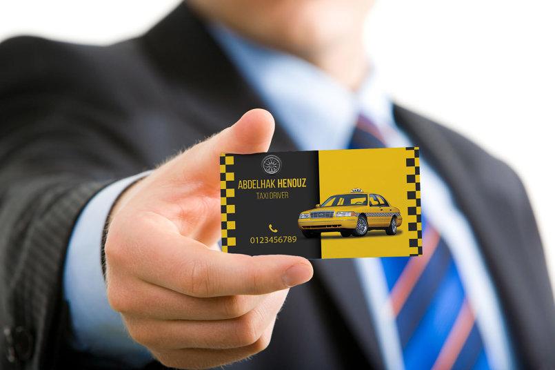 بطاقة عمل تاكسي