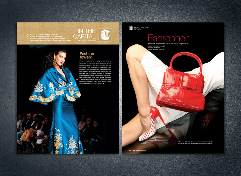 Etihad Inflight Magazine