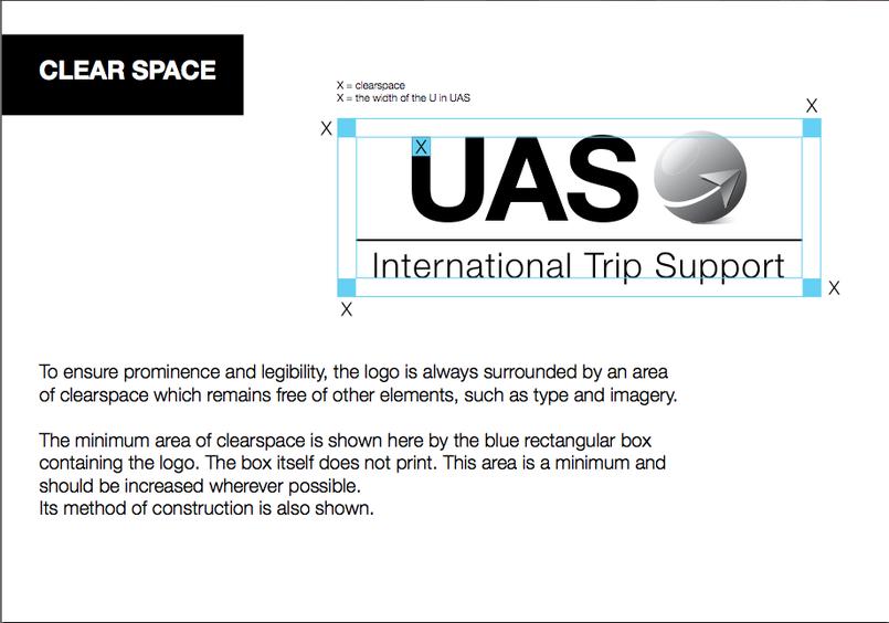 شعار لشركة خدمات طيران