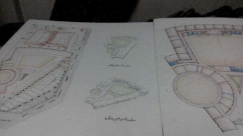 تصميم معمارى لمدرسة تعليم اساسى