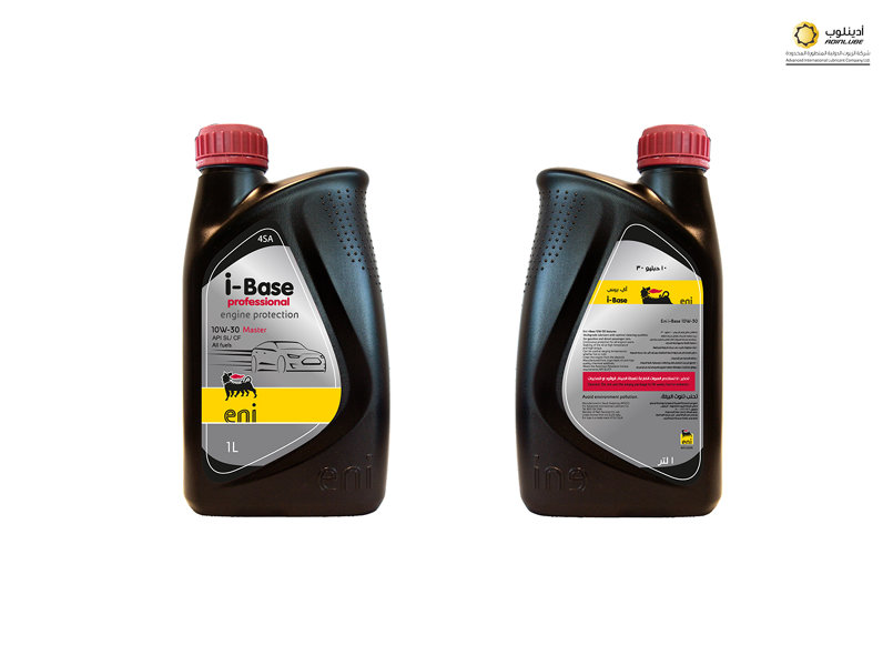 lubricant oil bottle packaging