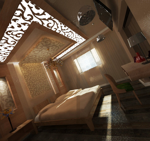 new classic bedroom design - By Eman El Shareef- moonarts ...