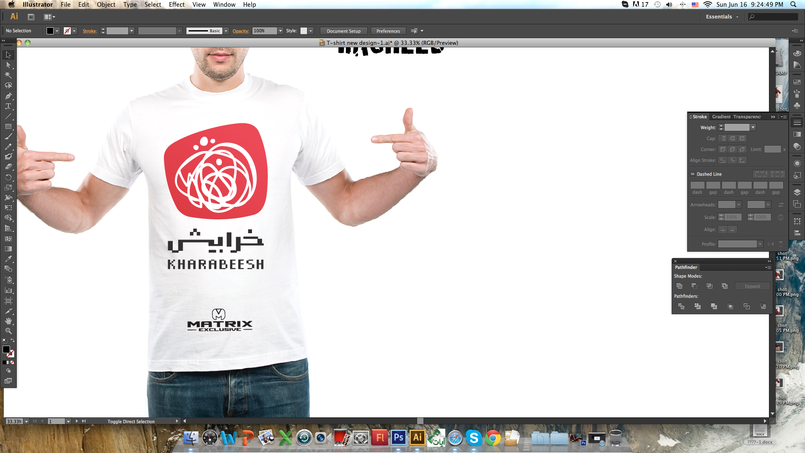t-shirt Design / MMA