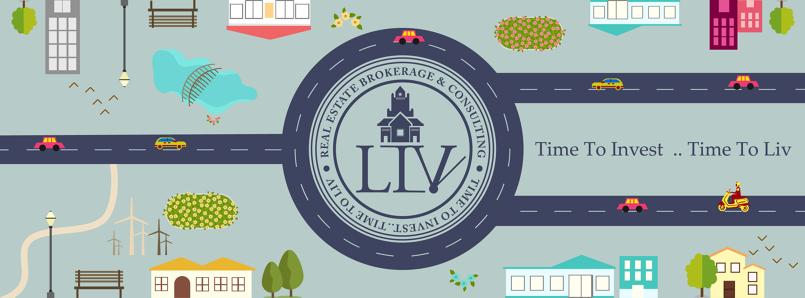 LIV Real Estate - Social Media Designs