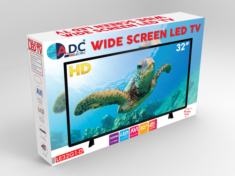TV packaging design
