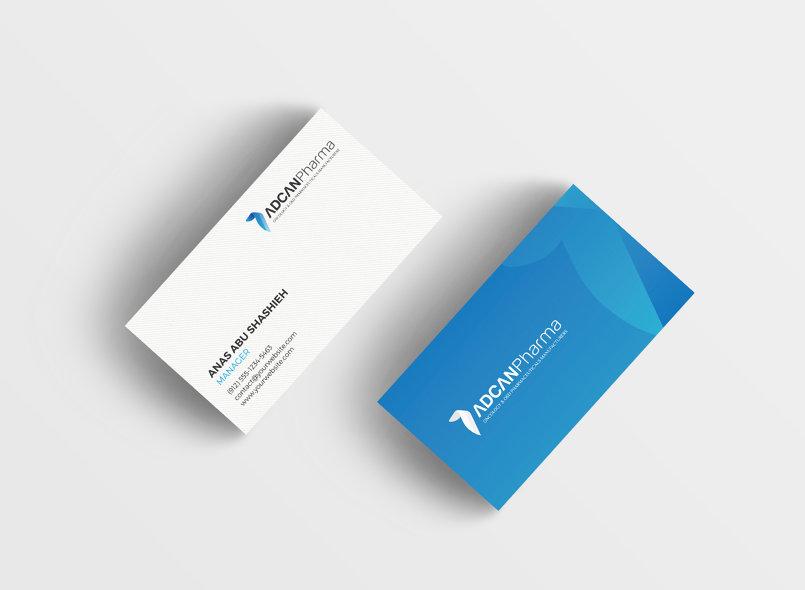 "Corporate identity for "" ADCAN Pharma LLC"" (United Arab Emirates)"