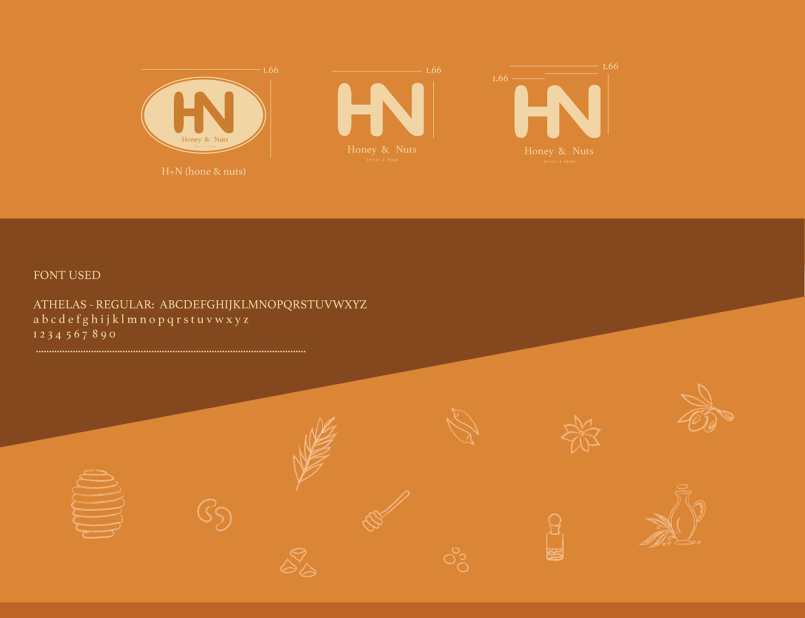 Honey & Nuts . Herbs & Spices - Branding