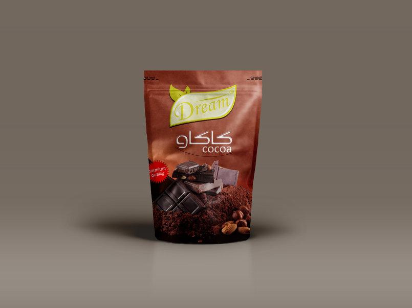 علامة تجاريه لـ منتج كاكاو .