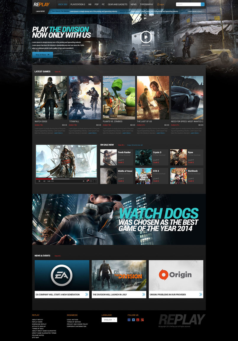 Games Site