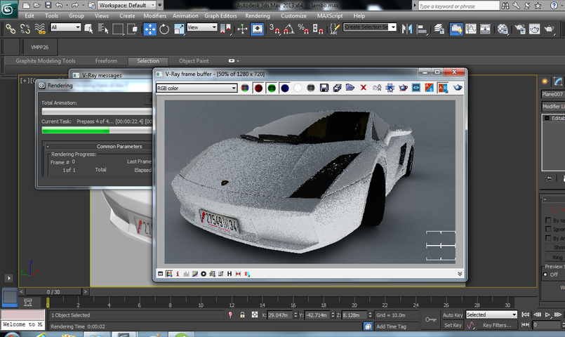 modeling and  realistic  rendering