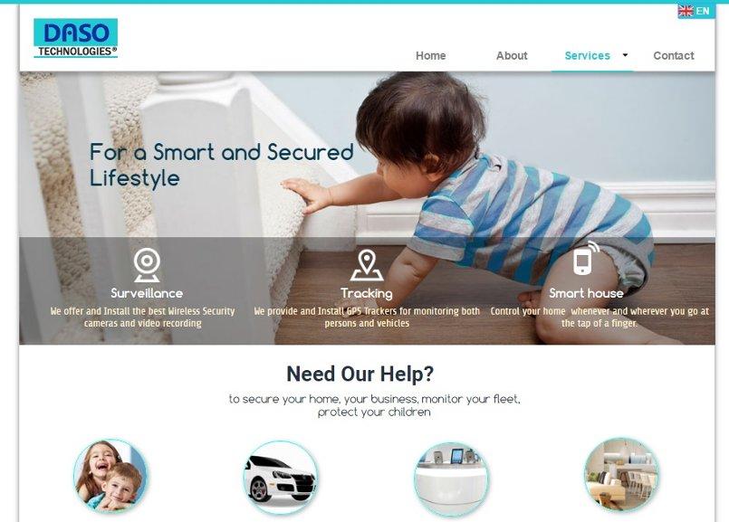 صفحة services