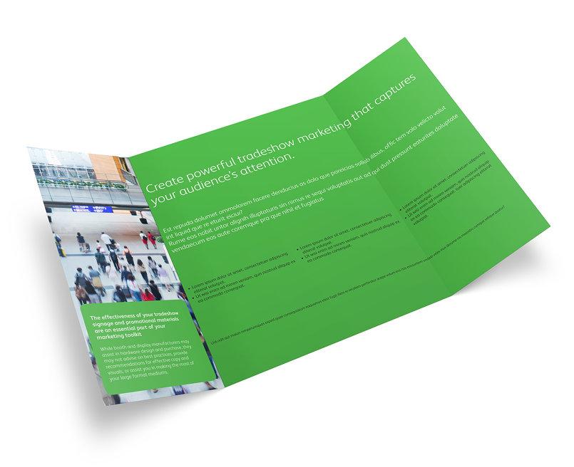 Xerox Creative Services Gate Fold Brochure
