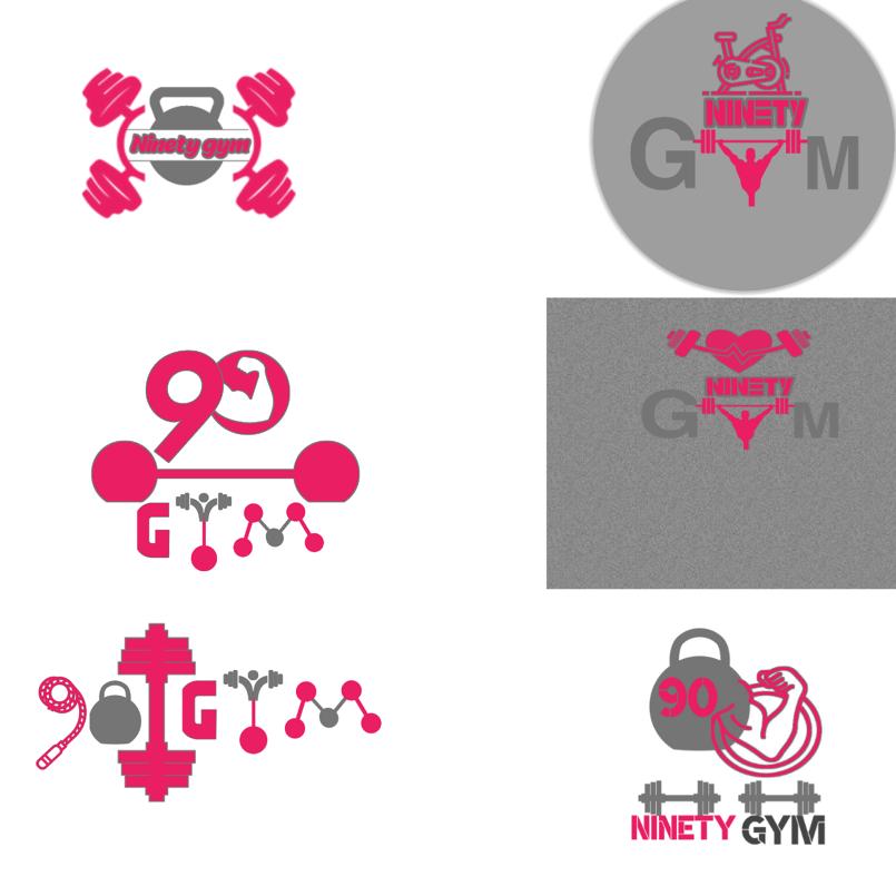 نماذج لشعار 90 GYM