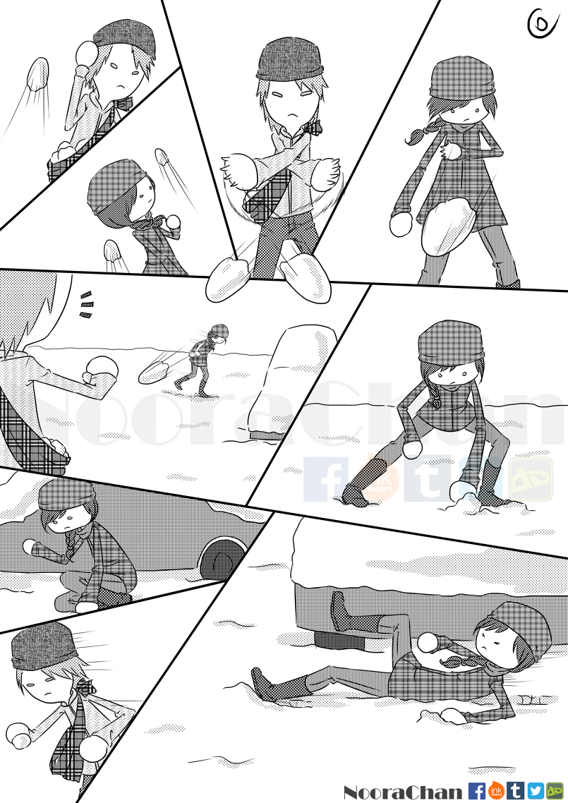 حرب الثلج 2: انتقام نوار