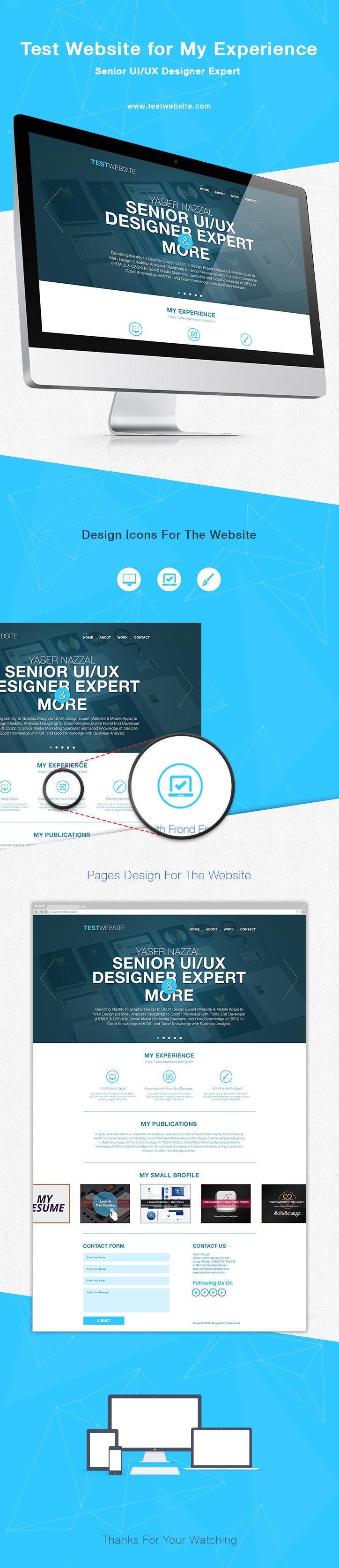 CV Website Presentation