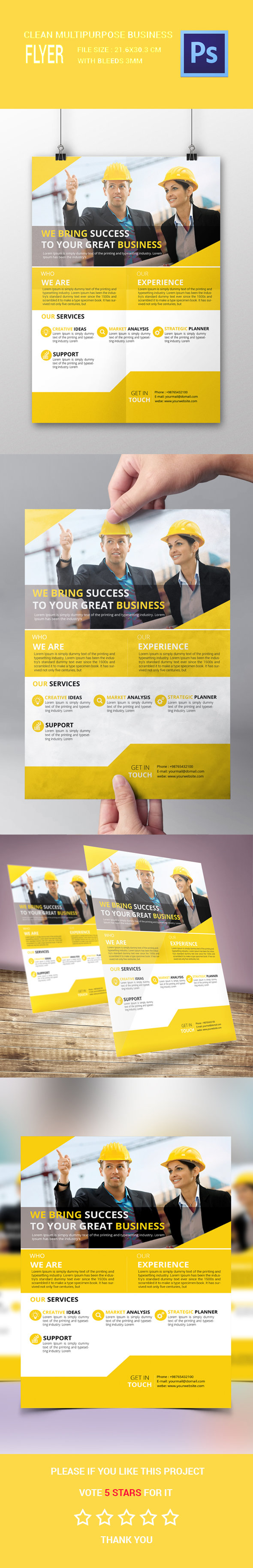 1 - Corporate Flyer A4
