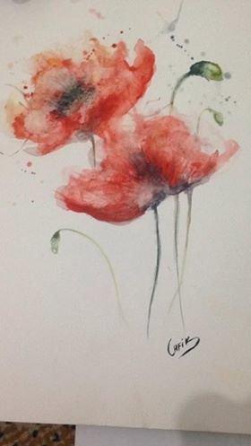 dessin aquarelle