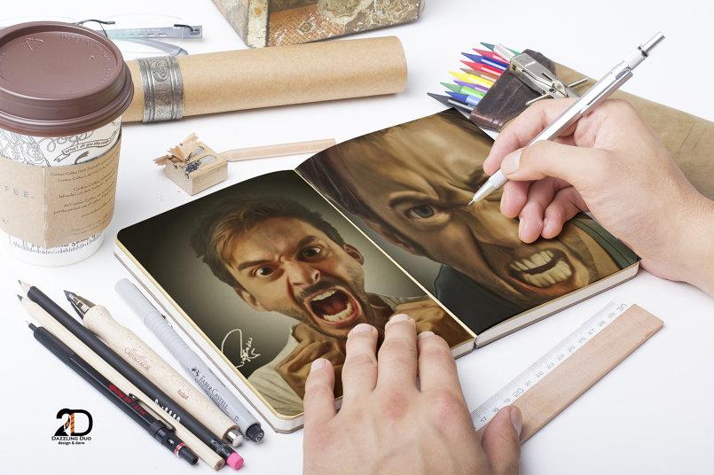 manipulate Caricature