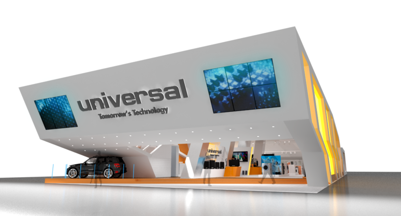 Universal Booth